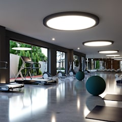 Not Mimarlık – Eruz | Casamarin Suits:  tarz Fitness Odası