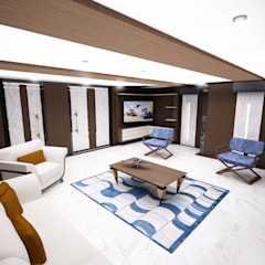 Yachts & jets by Azcarate Design, Modern