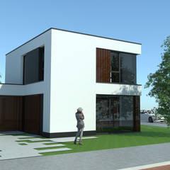 Woonhuis in Son:  Villa door Bureau Ha Architecten