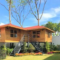 منازل تنفيذ Casas y cabañas de Madera  -GRUPO CONSTRUCTOR RIO DORADO (MRD-TADPYC)