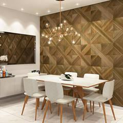 Sala : Salas de jantar  por Juliana Castro Arquitetura,Moderno