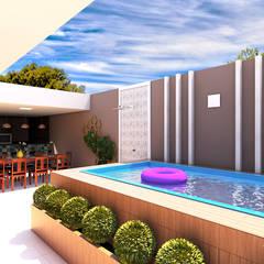 Pool by Juliana Castro Arquitetura