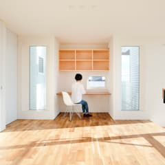 Study/office by 一級建築士事務所 Atelier Casa