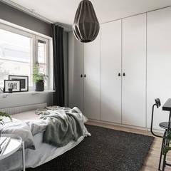 Dormitorios pequeños de estilo  por Neun designs Pvt.Ltd.