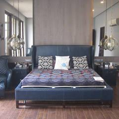 Recámaras pequeñas de estilo  por Neun designs Pvt.Ltd.
