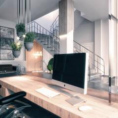 Rita İç Mimarlık – Ofis projesi:  tarz Ofis Alanları