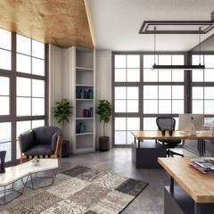 Rita İç Mimarlık – muhasebe odası:  tarz Ofis Alanları