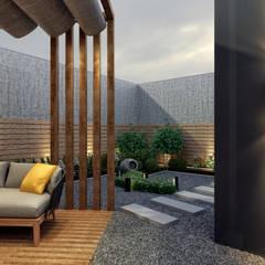 Rita İç Mimarlık – kış bahçesi:  tarz Ofis Alanları