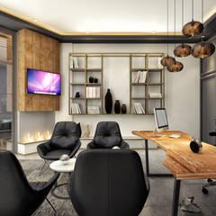Rita İç Mimarlık – makam odası:  tarz Ofis Alanları
