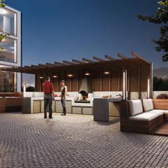 Lotus Mimarlık/Architecture – Platinum Adana:  tarz Bahçe