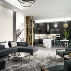 Lotus Mimarlık/Architecture – Mersin Villa:  tarz Multimedya Odası