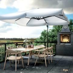 Balcón de estilo  por Lotus Mimarlık/Architecture,