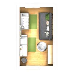 Babyzimmer: Wald:  Babyzimmer von Der Schlüssel zum Glück - Interior Design
