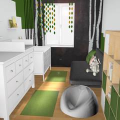 Der Schlüssel zum Glück - Innenarchitekturが手掛けた赤ちゃん部屋