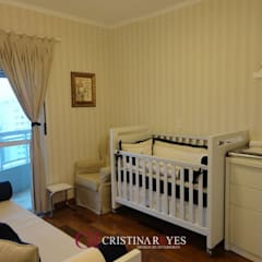 Quarto infantil: Quartos de bebê  por Cristina Reyes Design de Interiores