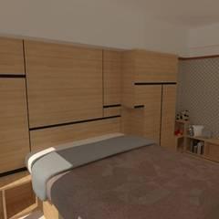 Dormitorios de estilo  por Internodec