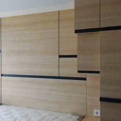 Minimalist bedroom by Internodec Minimalist