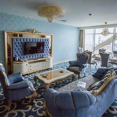HİZMAN MİMARLIK LTD. ŞTİ. – WELMON HOTEL - BATUMİ /GEORGİA:  tarz Yatak Odası, Rustik