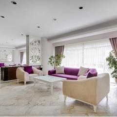Koridor dan lorong oleh HİZMAN MİMARLIK LTD. ŞTİ., Mediteran