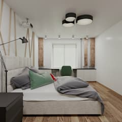 Small bedroom by EM design