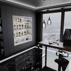 Jack's time: styl , w kategorii Biurowce zaprojektowany przez MOONFIELD STUDIO