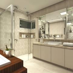 Banheiro Suíte CF l 27: Banheiros  por A+G Arquitetas
