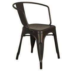 Cafe Sandalyeleri – Kollu Tolix Sandalye :  tarz Bahçe