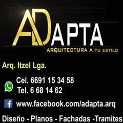 Small houses by ADAPTA - Arquitectos - Ingenieros