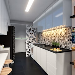 Small-kitchens by L.R. ARQUITETURA| OBRAS| INTERIORES