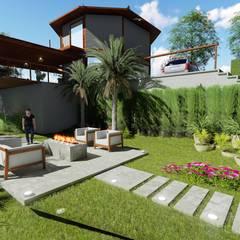 L.R. ARQUITETURA| OBRAS| INTERIORES:  tarz Zen bahçesi