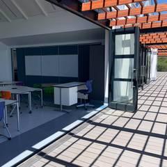 The Ridge School:  Schools by Inovar, Modern Wood-Plastic Composite