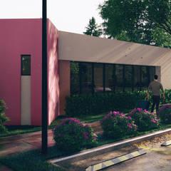 Bus Station: Espacios comerciales de estilo  por Javier Diaz │ arquitecto