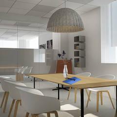 Дизайн офисов: Офисы и магазины в . Автор – Characteriors, Эклектичный
