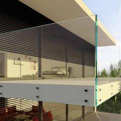 Glass planning and render: Varandas  por Robert Majewski 3dArtist