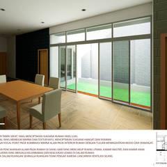 rumah tinggal nordik minimalis: Ruang Keluarga oleh Agatha Design,