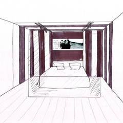 Квартира рок-музыканта: Маленькие спальни в . Автор – Characteriors,