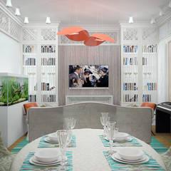 Art квартира в Dominion: Столовые комнаты в . Автор – Characteriors