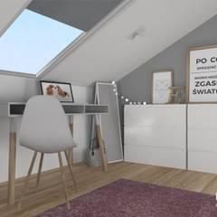 Dom pod Krakowem: styl , w kategorii Pokój dziecięcy zaprojektowany przez Pracownia Projektowa BOPROJEKT