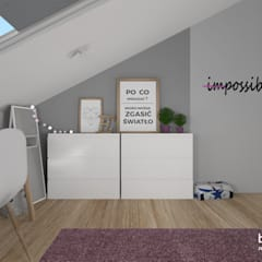 اتاق کودک by Pracownia Projektowa BOPROJEKT
