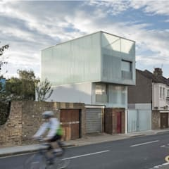 Slip House Brixton - RIBA Award Winner:  Prefabricated home by Building With Frames