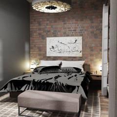 غرفة نوم تنفيذ Der Schlüssel zum Glück - Interior Design