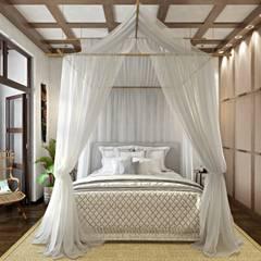 ЭТНИЧЕСКИЕ МОТИВЫ: Спальни в . Автор – Дизайн студия Алёны Чекалиной,