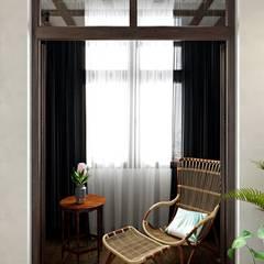 Balkon von Дизайн студия Алёны Чекалиной