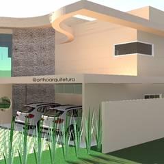 Projeto de Arquitetura - Residencial: Condomínios  por Ortho Arquitetura