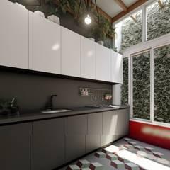 Cocina: Cocinas pequeñas de estilo  por Rodrigo Leon Palma