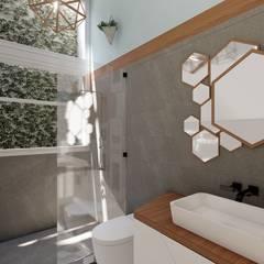 Baño: Baños de estilo  por Rodrigo Leon Palma