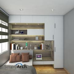 Kamar Tidur Anak:  Kamar Tidur by Simply Arch.