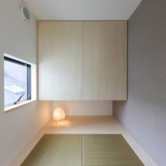 仙台のハコノオウチ: 石川淳建築設計事務所が手掛けた和室です。,ミニマル
