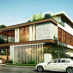 Projekty,  Willa zaprojektowane przez B Design Studio