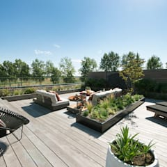 Roof terrace by Studio REDD exclusieve tuinen